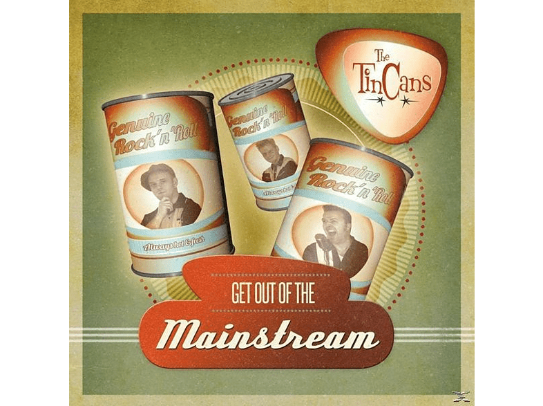 "Tin Cans - Get Out Of The Mainstream (Lim.Ed.10"") [Vinyl]"