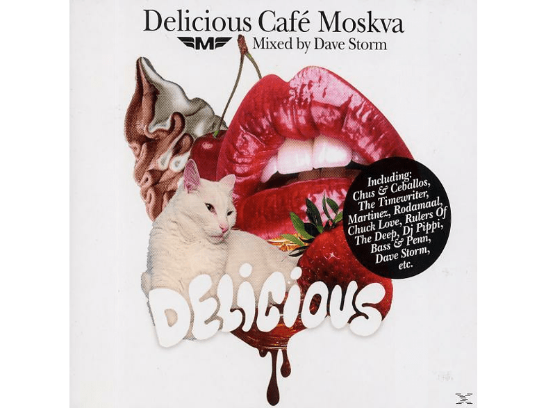 Dave Storm - delicious cafe moskva [CD]