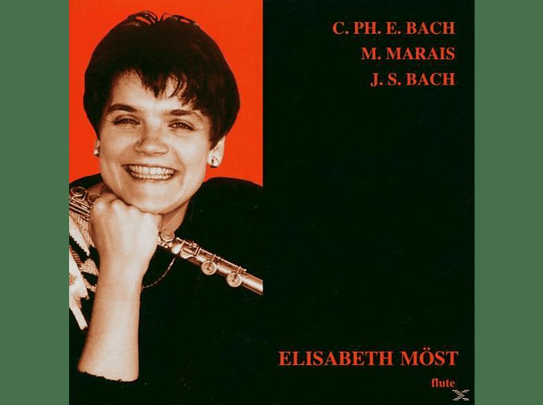 Elisabeth Möst - Bach,Marais,Bach [CD]