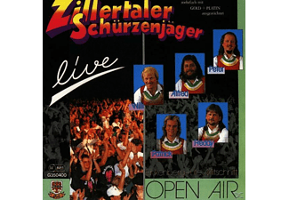 Schürzenjäger - Live/Open Air Finkenberg  - (CD)