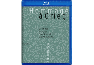 Dena Piano Duo, Tim Margareta Nilssen, Heide Görtz - Hommage à Grieg  - (Blu-ray Audio)