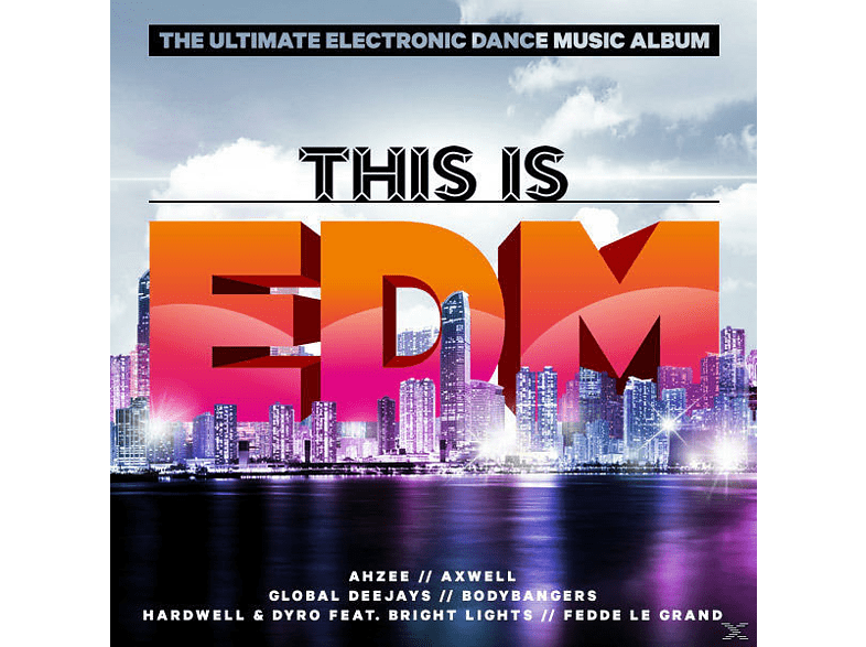 Variuos - This Is Edm [CD]