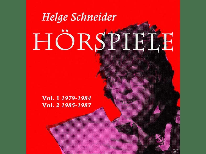 Helge Schneider - HÖRSPIELE 1+2 (1979-1987) - (CD)