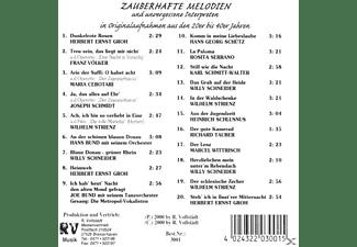 VARIOUS - Zauberhafte Melodien  - (CD)