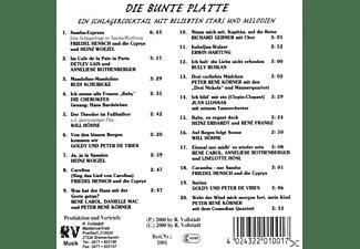 VARIOUS - Die Bunte Platte  - (CD)