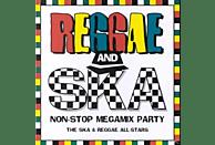 Reggae, The & Reggae All-stars Ska - Reggae & Ska Non Stop Megamix Party [CD]