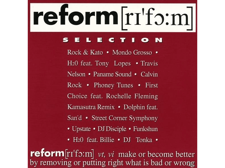 VARIOUS - Reform Selection [CD]