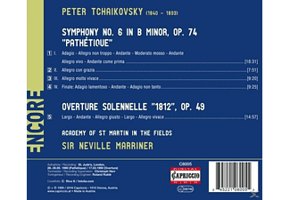 Sir Neville Marriner - Sinfonie 6/Ouvertüre Solennelle  - (CD)