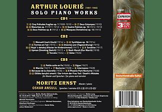 Moritz Ernst - Werke für Solo-Klavier  - (CD)