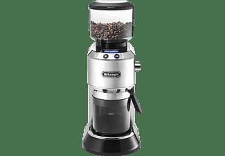 DELONGHI KG 521.M Dedica Kaffeemühle Silber/Schwarz (150 Watt, Edelstahl-Kegelmahlwerk)