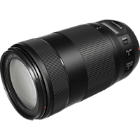 CANON 0571C005 70 mm-300 mm f/4-5.6 EF, IS II, USM (Objektiv für Canon EF-Mount, Schwarz)