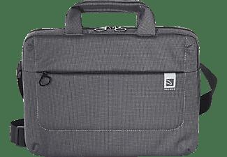 TUCANO Loop Notebooktasche Aktentasche für Universal Nylon, Schwarz