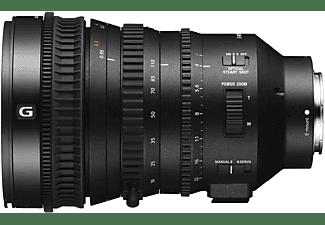 SONY SELP18110G 18 mm - 110 mm f/4.0 G-Lens, OSS, Circulare Blende, DMR (Objektiv für Sony E-Mount, Schwarz)