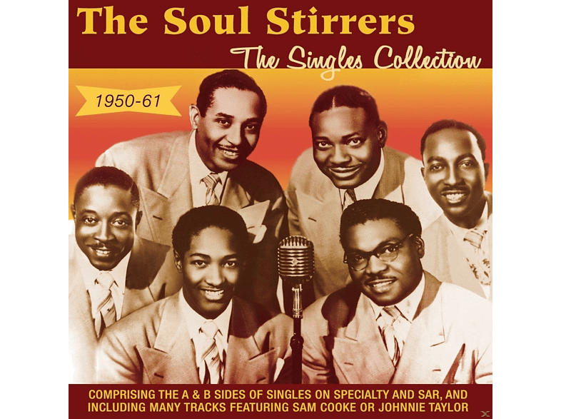 The Soul Stirrers - The Singles Collection 1950-61 [CD]