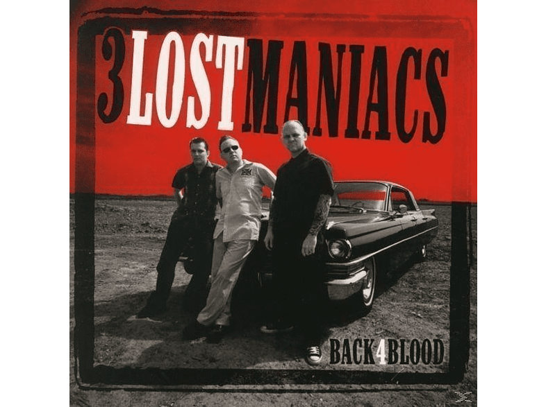 Maniaks, 3 Lost Maniacs - Back4blood [CD]