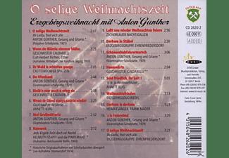 Anton Günther - O Selige Weihnachtszeit (Originalaufnahmen)  - (CD)