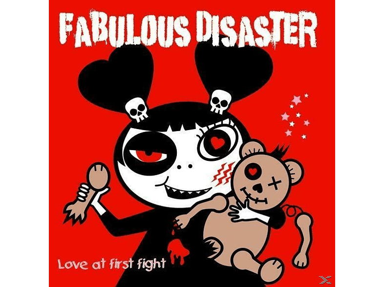 Fabulous Disaster - Love at first fight [CD]