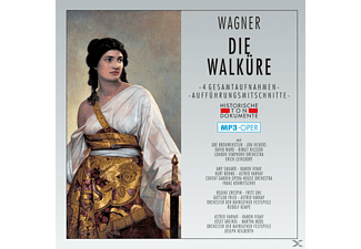 London Symphony Orchestra And Chorus - Die Walküre-Mp 3 Oper  - (MP3-CD)