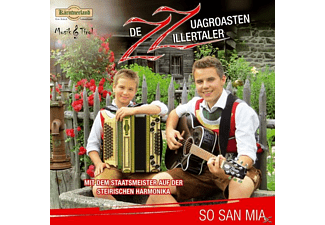 Zz-de Zuagroasten Zillertaler - So san mia  - (CD)