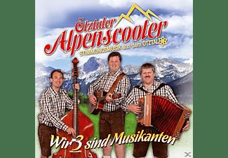Ötztaler Alpenscooter - Wir 3 sind Musikanten  - (CD)