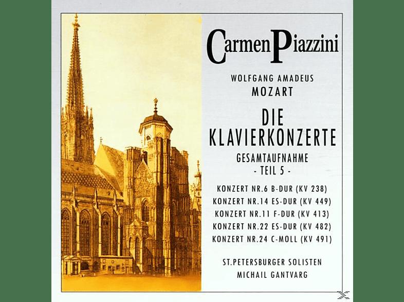 Piazzini Carmen - Die Klavierkonzerte (Teil 5) [CD]