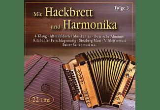 VARIOUS - Mit Hackbrett Und Harmonika 3  - (CD)