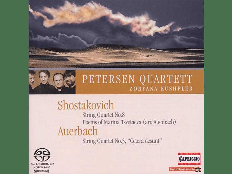 Petersen Quartett, Petersen Quartett/Kushpler - Cetera Desunt/Streichquartett [SACD]