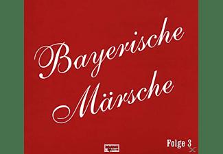VARIOUS - Bayerische Märsche-Folge 3  - (CD)