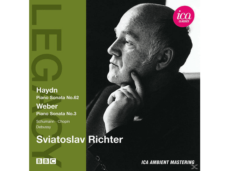 Sviatoslav Richter - Piano Sonata No. 62 - Piano Sonata No. 3 [CD]