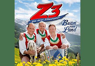 Die Z3-drei Zillertaler - Buam vom Land  - (CD)
