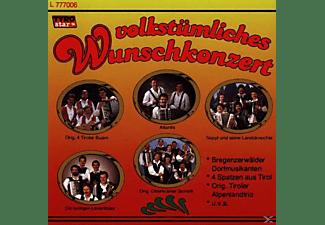 VARIOUS - Volkstümliches Wunschkonzert  - (CD)