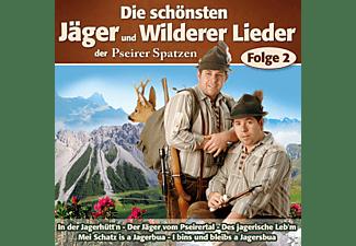 Pseirer Spatzen - Die Schönsten Jäger & Wilderer Lieder F.2  - (CD)