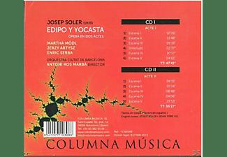 Mödl/Artysz/Serra/Ros Marbà - Edipo y Yocasta  - (CD)
