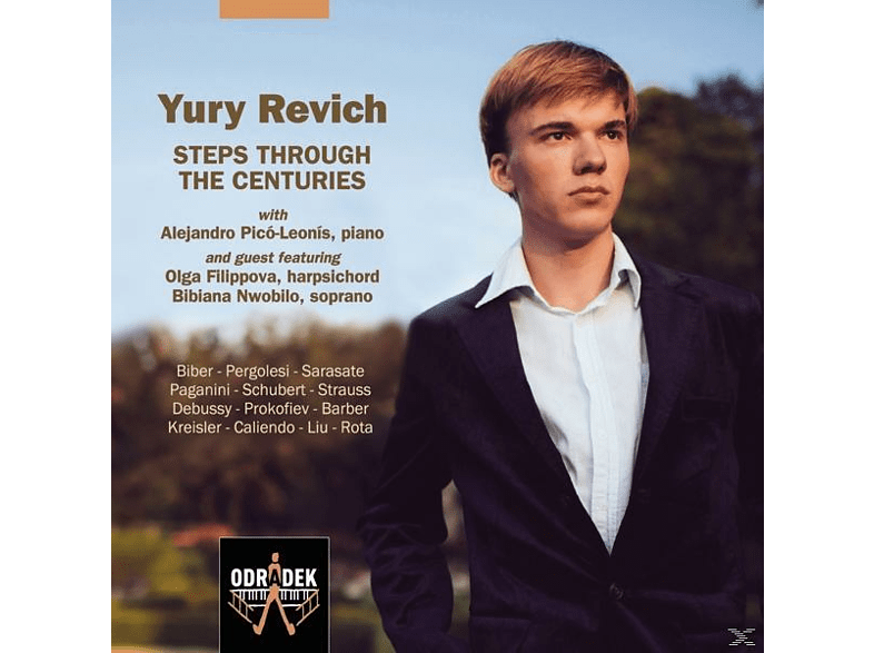 Yury Revich - Steps Through The Centuries [CD]