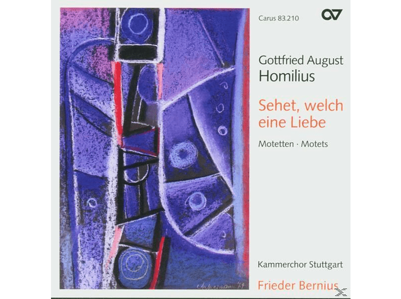 Frieder Bernius / Kammerchor Stuttgart - Motetten [CD]