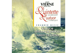 Quatuor Athenaeum Enesco, Tacchino Gabriel - Piano Quintete and String Quar - (CD)