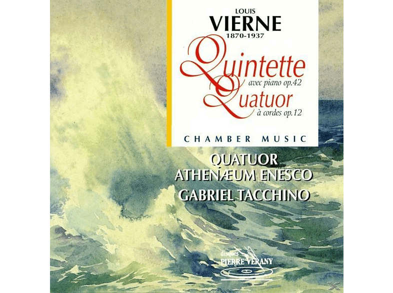 Quatuor Athenaeum Enesco, Tacchino Gabriel - Piano Quintete and String Quar [CD]