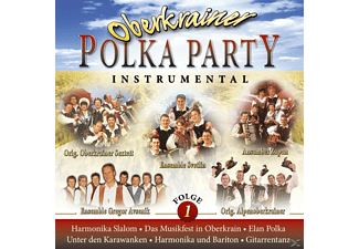 VARIOUS - Oberkrainer Polka Party 1 Instrumental - (CD)