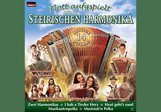 VARIOUS - Flott Aufgspielt Mit Der Steirischen Harmonika  - (CD)