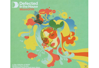 VARIOUS - Defected In The House-Miami 06 - (CD)