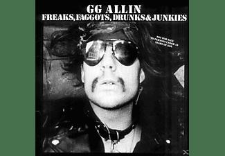 G.G. Allin - Freaks,Faggots,Drunks & Junkies  - (Vinyl)