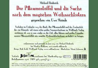 Uwe Steimle - Der Pflaumentoffel und die Suche nach dem magischen Weihnachtsstern  - (CD)