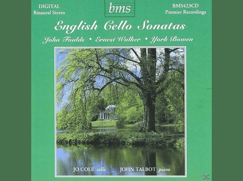 Talbot Cole - Englische Cellosonaten [CD]