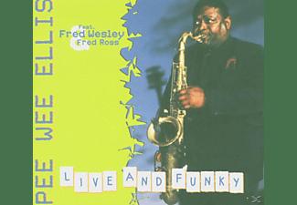Pee Wee Ellis - Live And Funky  - (CD)