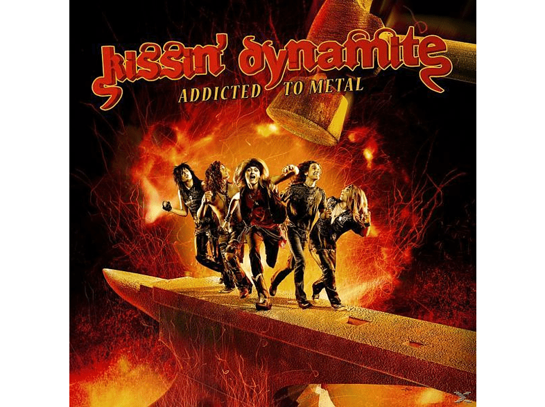 Kissin' Dynamite - Addicted To Metal [CD]