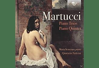 Maria Quartetto Noferini/semeraro - Piano Trios Piano Quintet  - (CD)