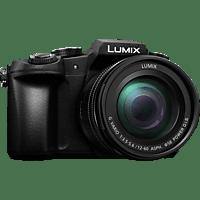 PANASONIC Lumix DMC-G81MEG Systemkamera 16 Megapixel mit Objektiv 12-60 mm , 7.5 cm Display  , WLAN