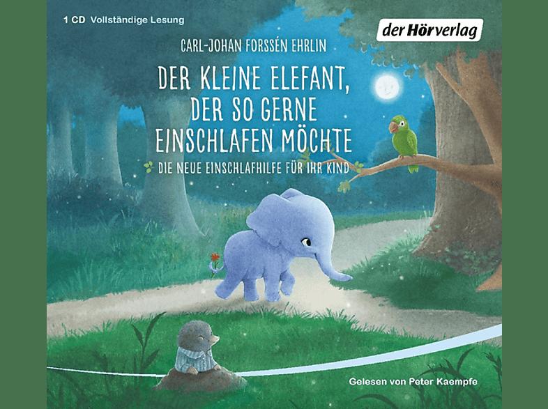 Der kleine Elefant, der so gerne einschlafen möchte - (CD)