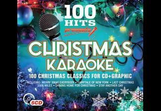 VARIOUS - 100 Hits-Christmas Karaoke  - (CD)