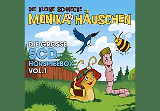 Die Kleine Schnecke Monika Häuschen - Monika Häuschen-Die Gr.5-CD Hörspielbox Vol.1  - (CD)